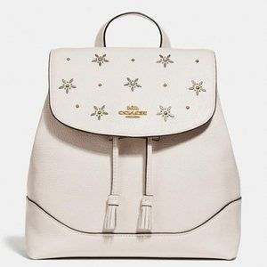 NWT Coach Elle Backpack with Allover Studs